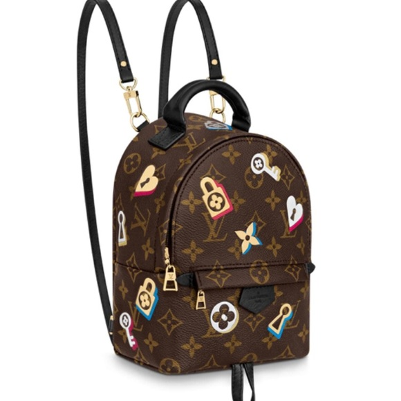 c023c29f5fb0 BNWT Louis Vuitton Mini Palm Springs Backpack